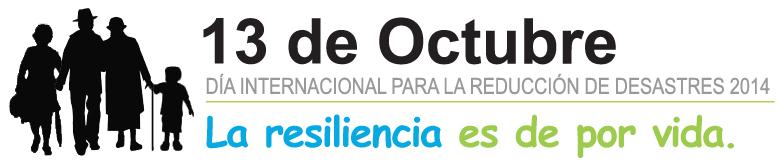 Resultado de imagen para 13 de octubre dia de la reduccion del riesgo de desastres onu