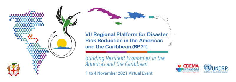 Save the date: VII Regional Platform for Disaster Risk Reduction in the Americas and the Caribbean will take place virtually from 1 to 4 November, 2021